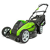 Greenworks 40V 45cm Mower c/w 4ah Battery and Charger