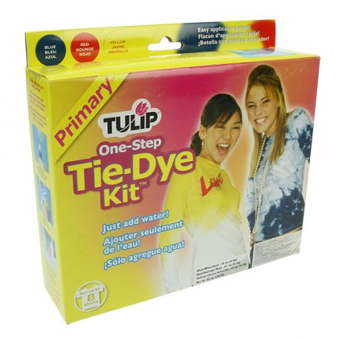 Tulip Primary Colours One-Step Tie-Dye Kit