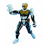 Power Rangers Megaforce 10cm Metallic Force Figure - Robo Knight Power Ranger