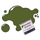 Humbrol Enamel Paint 14ML No 149 Foliage Green - Matt