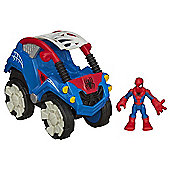 Playskool Super Hero Adventures Spider-Man Stunt Buggy