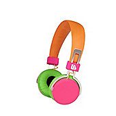 Merkury Hi-Light Headphones - Orange