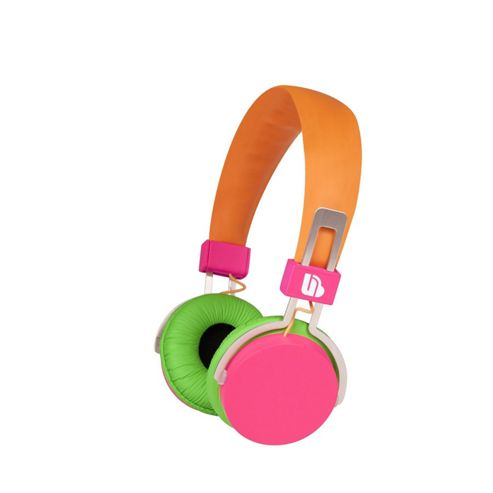 Merkury Hi-Light Headphones - Pink