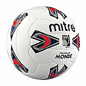 Mitre Monde Match Quality Football For Grass Or Astro Size 4
