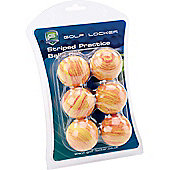 Golf Locker Mens Practice Sponge Golf Balls