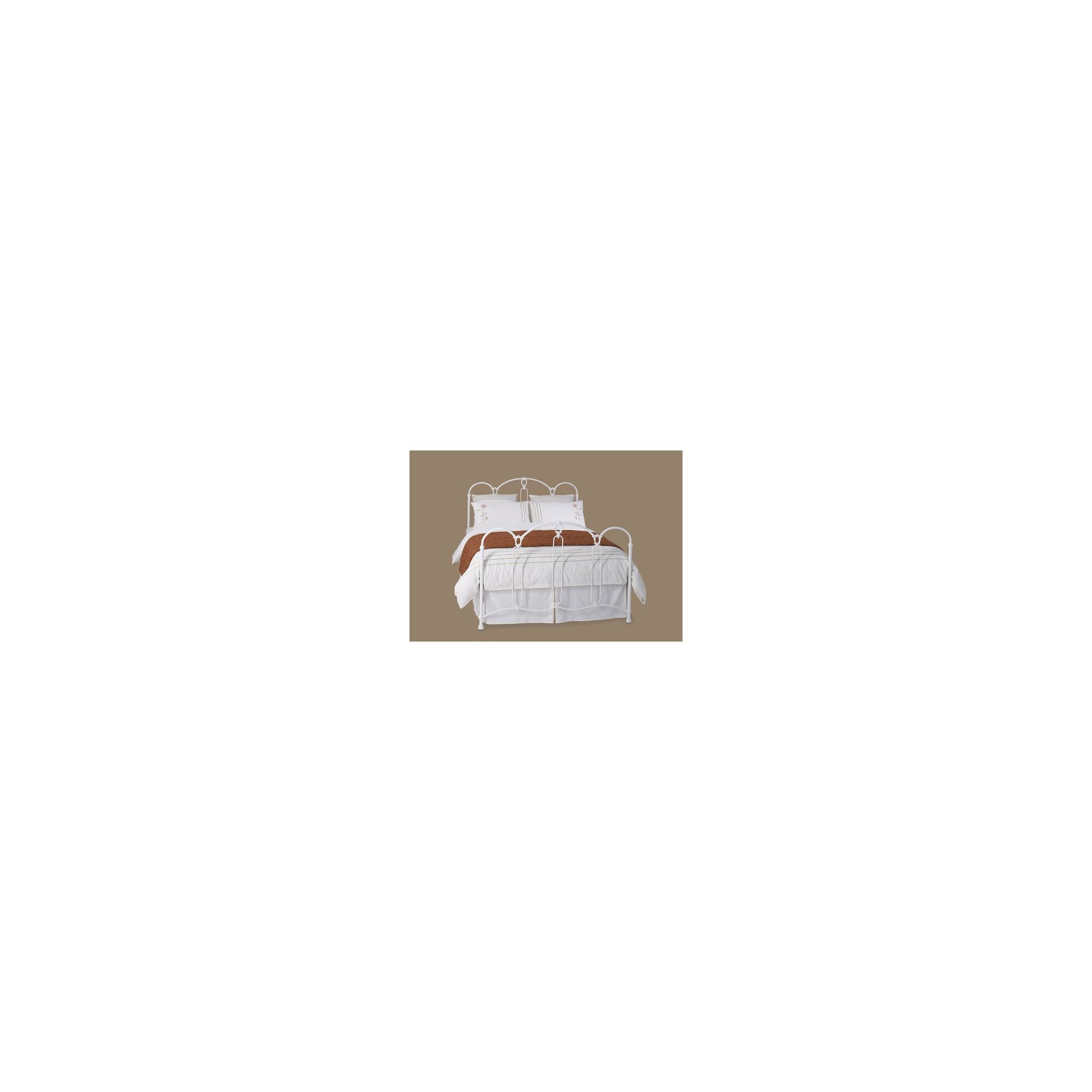 OBC Windsor Bed Frame - Double - Matt White at Tesco Direct