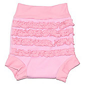 Splash About Happy Nappy Pink Frills - Pink