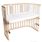 BabyBay Co-Sleeping Cot Bed Natural