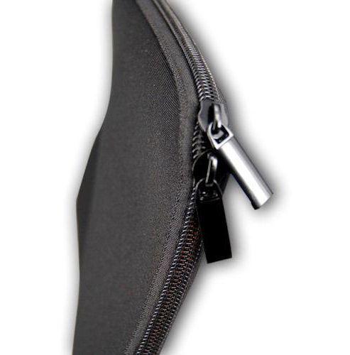 U-bop Advanced ZPouch Dual Corner Zip 12-inch Carry Sleeve - Charcoal Black