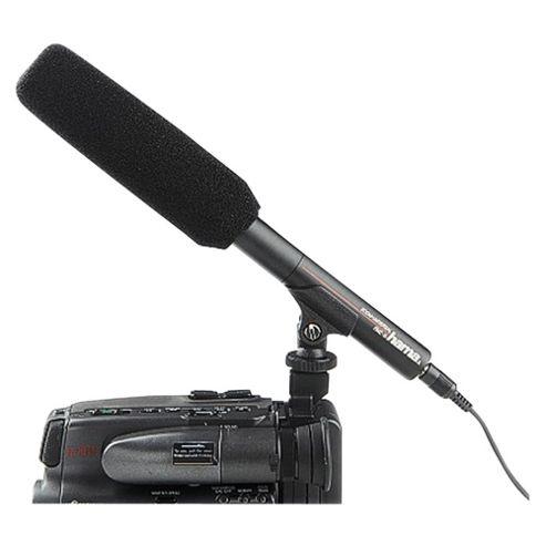 Hama RMZ-10 Zoom Universal Directional Microphone - Black