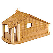 Teamson EverEarth Large Bamboo Nativity Set