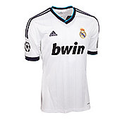 2012-13 Real Madrid Adidas Home UCL Shirt - White