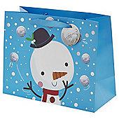 Chilly Large Snowman Landscape Bag