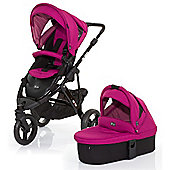 ABC Design Cobra 3 in 1 Pushchair & Carrycot (Black/Grape)