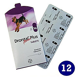 Drontal Plus Dog Tablets (12 pack)