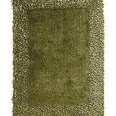 Oriental Carpets & Rugs Sable 2 Green Tufted Rug - 170cm L x 120cm W