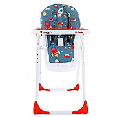 My Babiie MBHC8FL Premium Highchair (Rocketman)