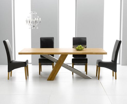 Mark Harris Furniture Montana 225cm Dining Table in Solid Oak