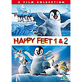 Happy Feet & Happy Feet 2 (DVD Double Pack)