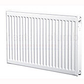 Heatline EcoRad Compact Radiator 600mm High x 400mm Wide Double Panel Plus