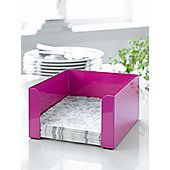 Steel Function Torino Napkin Holder in Pink