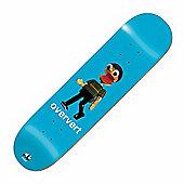 Enjoi Oververt Blue 8.5inch Skateboard Deck