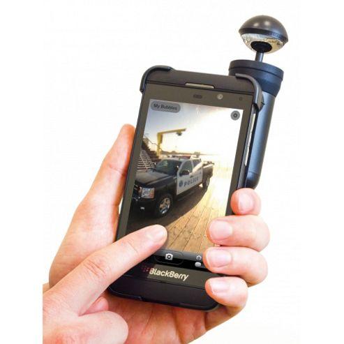 Bubblescope with BlackBerry Z10 Case