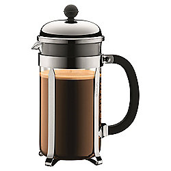 Bodum Chambord Cafetiere - 8 Cup - Stainless Steel