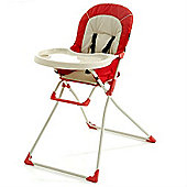 Hauck Macbaby Deluxe Highchair - Red