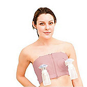 Simple Wishes Hands Free Breast Pump Bra XS To L Pink