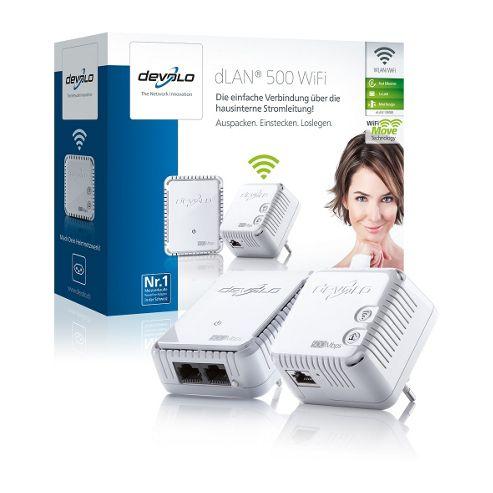 Devolo 9085 500 Wifi Starter Kit White