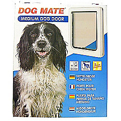 Pet Mate Dog Door White 215w Medium