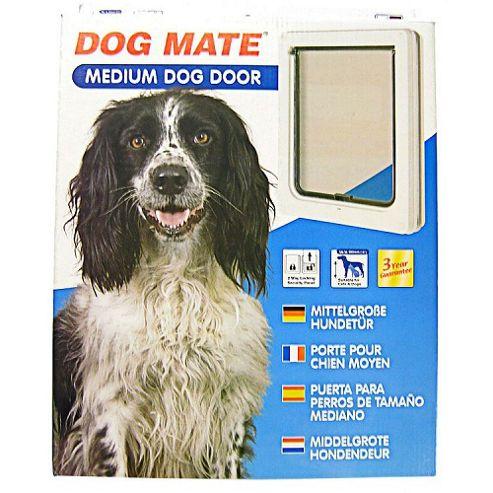Pet Mate Dog Door White 215w Medium