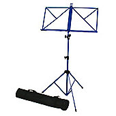 Windsor Folding Music Stand - Blue