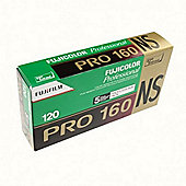 FUJI Professional Colour Negative Film - Pro 160NS 120 - 5pk\n
