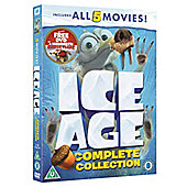 Ice Age 1-5/Mammoth Christmas DVD