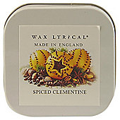 Wax Lyrical Spiced Clementine Candle Tin