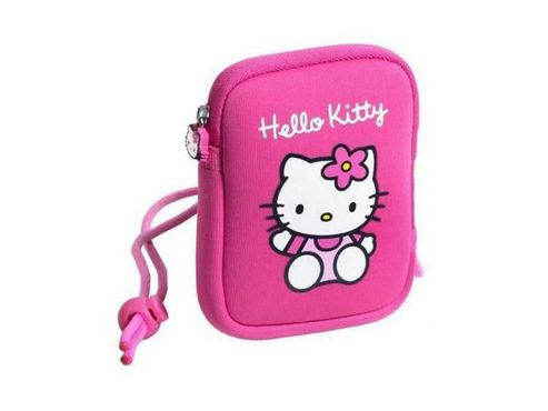 HELLO KITTY Neoprene Soft Camera Case, Pink HEA030Z