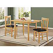 Birlea Oxford 3 Piece Dining Set