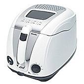Breville VDF108 Easy Clean Brushed S/S 1L Deep Fat Fryer - White