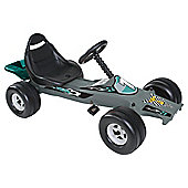 102 Tesco Ride On Go Kart - Silver