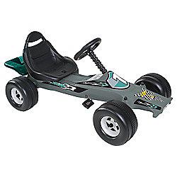 102 Tesco Ride On Go Kart - Silver