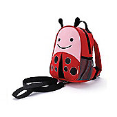 Skip Hop Zoo-Let Baby Backpack & Reins - Ladybug