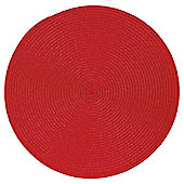 Tesco Woven Placemat Red 2 pack
