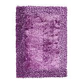 Oriental Carpets & Rugs Sable 2 Purple Tufted Rug - 150cm L x 90cm W