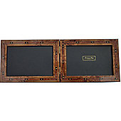 Addison Ross Marquetry Landscape Photo Frame with Brown Star Fibre Back - 6 in x 4 in
