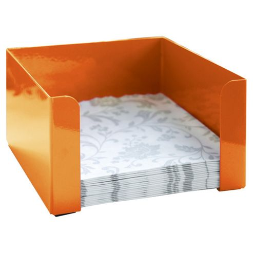 Steel Function Torino Napkin Holder in Orange