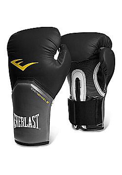 Everlast Pro Style Elite Training Boxing Gloves - Black