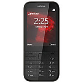 Tesco Mobile Nokia 225 Black