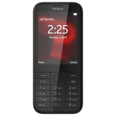 Tesco Mobile Nokia 225 Black